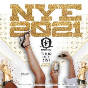 LIVE from Hashtag Lounge - Alexandria, VA 12-31-2020 (No Talking)